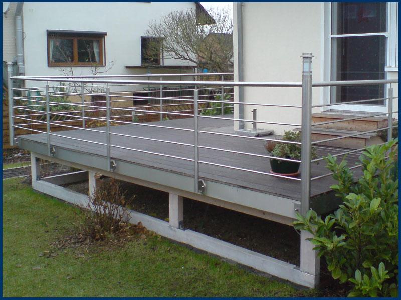 terrasse aus stahl selber bauen home design inspiration. Black Bedroom Furniture Sets. Home Design Ideas